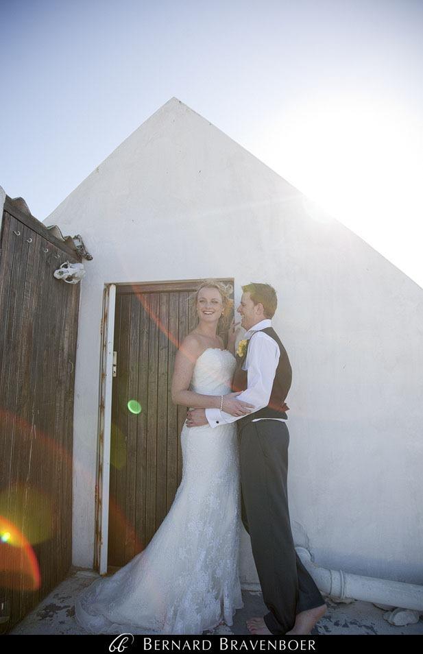 Marina Brett Bravenboer Weddings Yzerfontein Strandkombuis   0041
